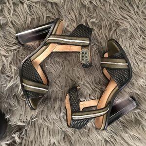 L.A.M.B. Sandal heels